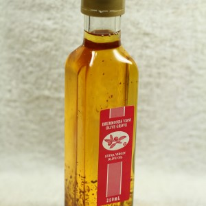Infused oil - Garlic & Chili (250 ml.)