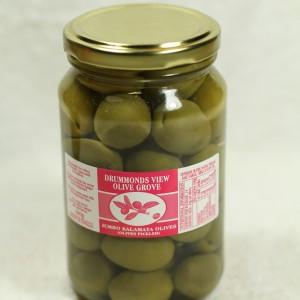 Jumbo Kalamata Olives - Natural (280 g. jar)