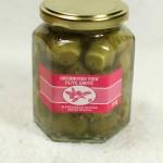 Stuffed Olives - Garlic & Basil (200 g. jar)