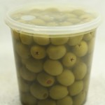 Stuffed Olives - Natural (840 g. tub)
