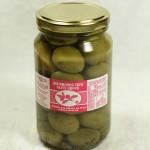 Jumbo Kalamata Olives - Garlic & Basil (280 g. jar)