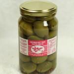 Jumbo Kalamata Olives - Garlic & Chili (280 g. jar)