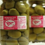 Green olives (stone in)