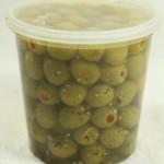 Stuffed Olives - Garlic & Basil (840 g. tub)